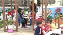 Các cháu trường MN Quảng Văn tham gia ngày hội đọc sách